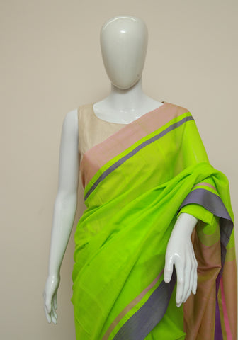 Handloom Cotton Saree Design 44