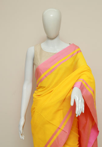 Handloom Cotton Saree Design 45