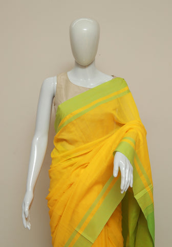 Handloom Cotton Saree Design 46