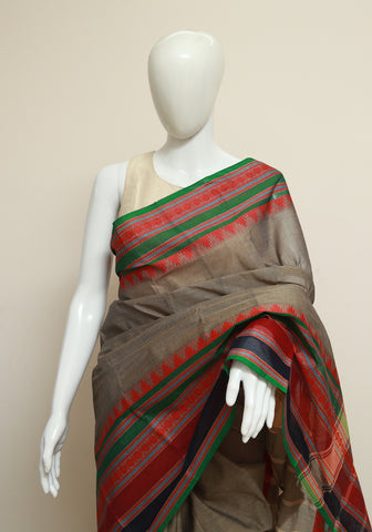 Chettinad Handloom Cotton Saree Design 67