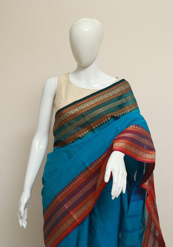 Chettinad Handloom Cotton Saree Design 71