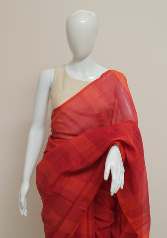 Handloom Cotton Saree Design 11