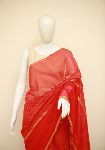 Mangalgiri Cotton Saree Design 8