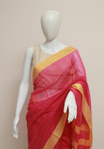 Handloom Cotton Saree Design 15