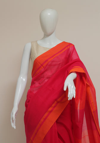 Handloom Cotton Saree Design 18