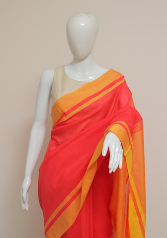 Handloom Cotton Saree Design 20