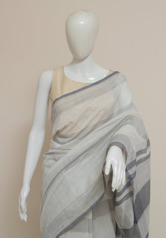 Handloom Cotton Saree Design 21