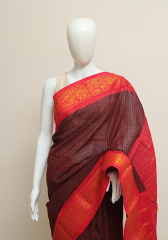 Sungudi Saree Design 189