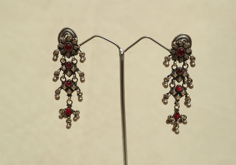 Sterling Silver Earrings Design 30
