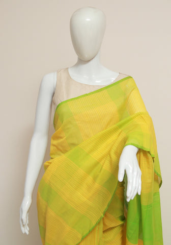 Handloom Cotton Saree Design 25