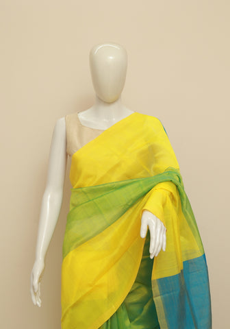 Mangalgiri Silk Saree Design 6