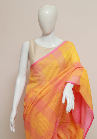 Handloom Cotton Saree Design 29