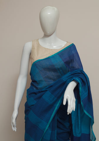 Handloom Cotton Saree Design 30