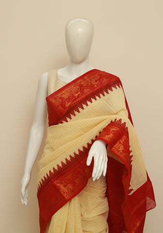 Sungudi Saree Design 67