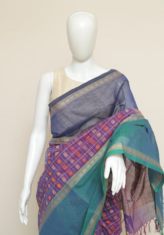 Chettinad Handloom Cotton Saree Design 108
