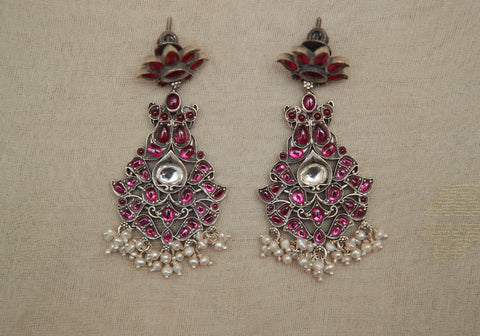 Kemp Silver Earrings Design 4
