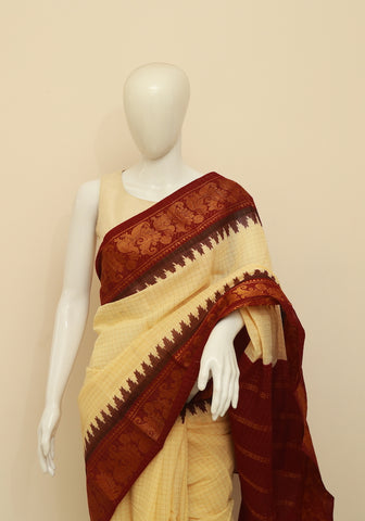 Sungudi Saree Design 76