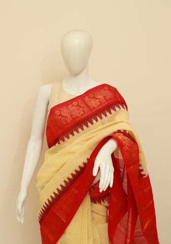 Sungudi Saree Design 78
