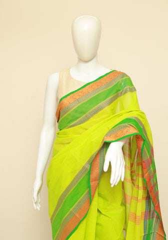 Chettinad Handloom Cotton Saree Design 111
