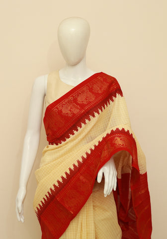 Sungudi Saree Design 81