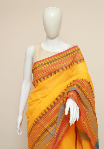 Chettinad Handloom Cotton Saree Design 116