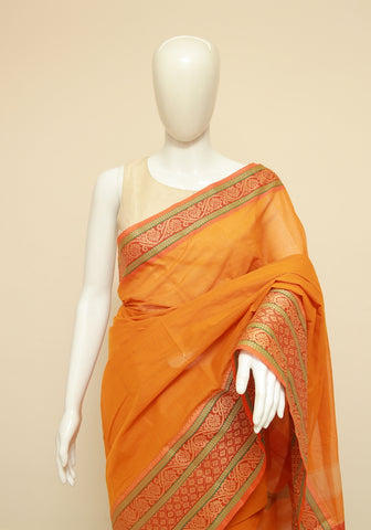 Chettinad Handloom Cotton Saree Design 220