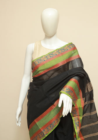 Chettinad Handloom Cotton Saree Design 221