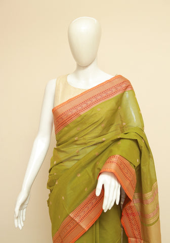 Chettinad Handloom Cotton Saree Design 224