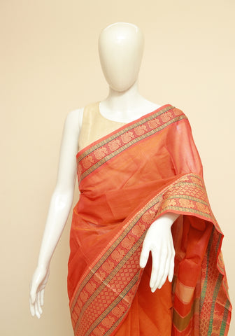 Chettinad Handloom Cotton Saree Design 226