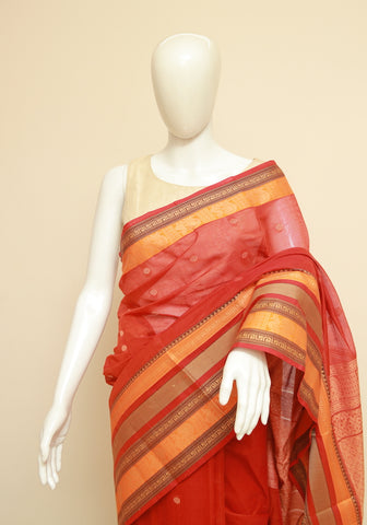 Chettinad Handloom Cotton Saree Design 227