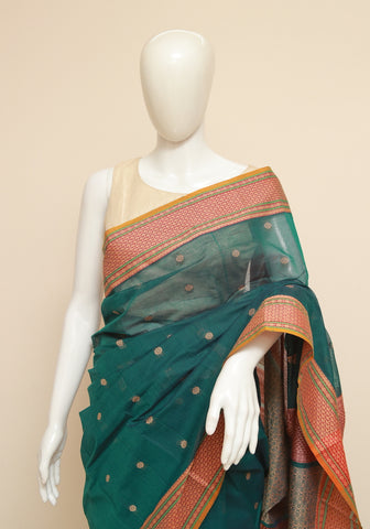 Chettinad Handloom Cotton Saree Design 228