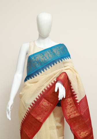 Sungudi Saree Design 40