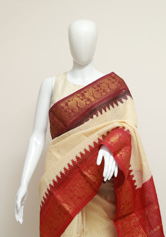 Sungudi Saree Design 42