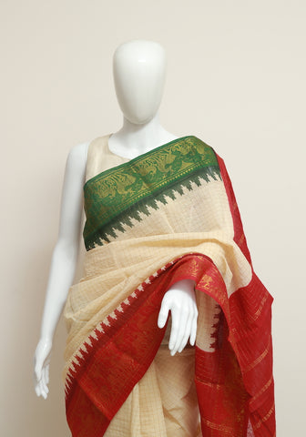 Sungudi Saree Design 45