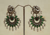 Sterling Silver Earrings  With Stones Design 92