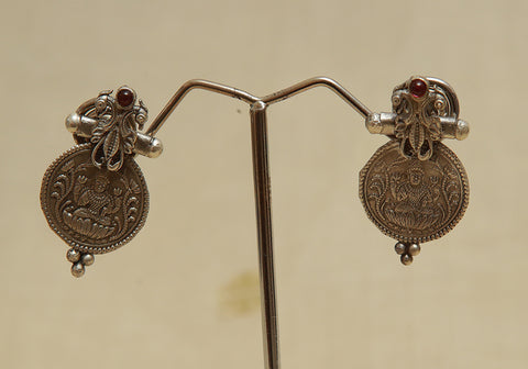 Sterling Silver Earrings  With Stones Design 102