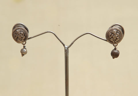 Sterling Silver Earrings  With Stones Design 113