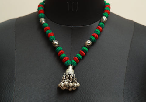 Lambani Tribal Necklace Design 114