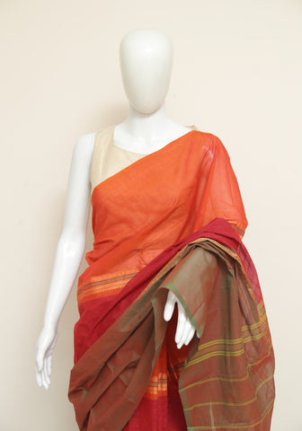 Chettinad Handloom Cotton Saree Design 77