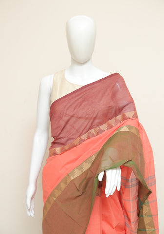 Chettinad Handloom Cotton Saree Design 78