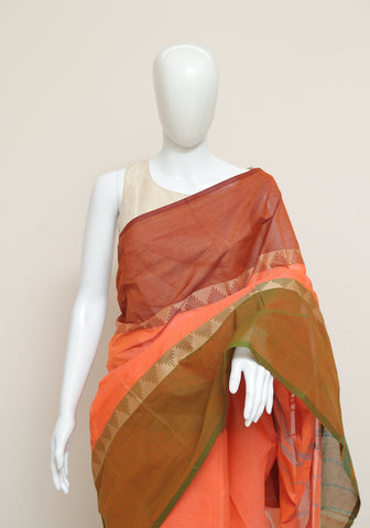 Chettinad Handloom Cotton Saree Design 79