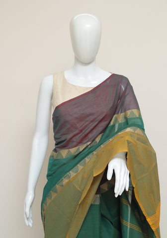Chettinad Handloom Cotton Saree Design 80