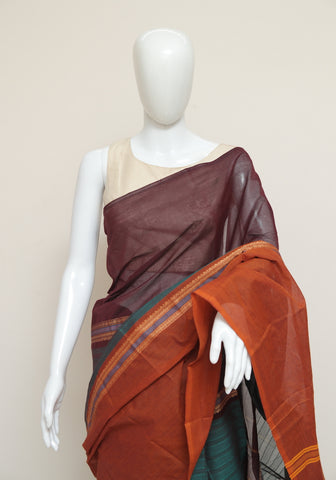 Chettinad Handloom Cotton Saree Design 82