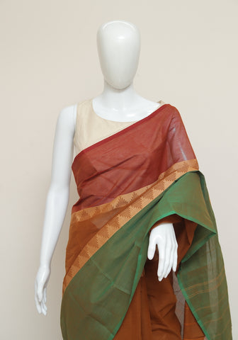 Chettinad Handloom Cotton Saree Design 83
