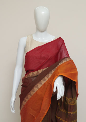 Chettinad Handloom Cotton Saree Design 85