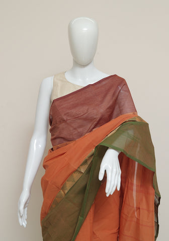 Chettinad Handloom Cotton Saree Design 87