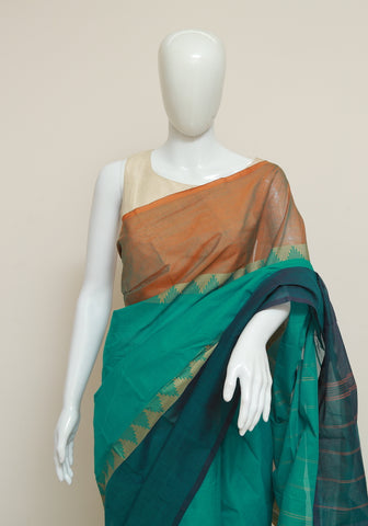 Chettinad Handloom Cotton Saree Design 88