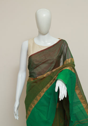 Chettinad Handloom Cotton Saree Design 90