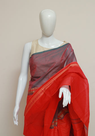 Chettinad Handloom Cotton Saree Design 92