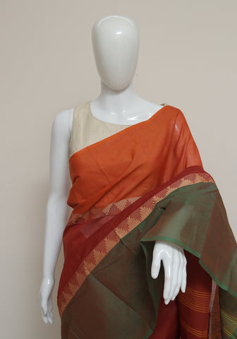Chettinad Handloom Cotton Saree Design 93